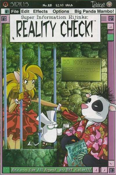 Super Information Hijinks: Reality Check #12 comic books for sale