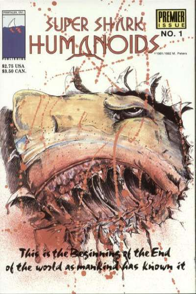 Super Shark Humanoids #1 comic books for sale