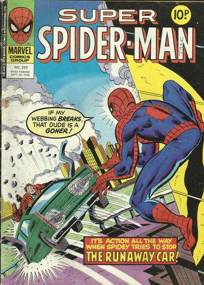 Super Spider-Man #293 comic books - cover scans photos Super Spider-Man #293 comic books - covers, picture gallery