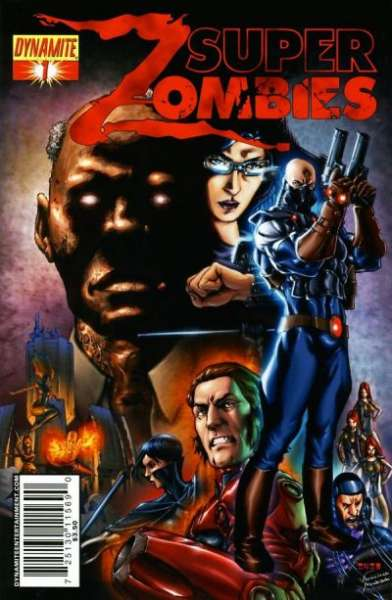 Super Zombies #1 comic books for sale