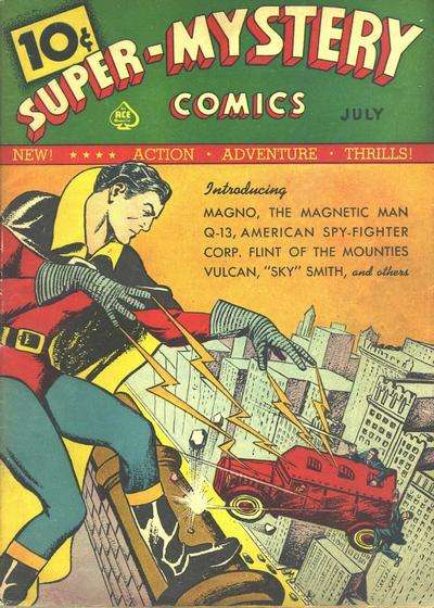 Super-Mystery Comics: Volume 1 comic books
