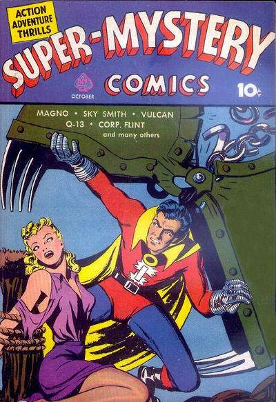 Super-Mystery Comics: Volume 1 #3 Comic Books - Covers, Scans, Photos  in Super-Mystery Comics: Volume 1 Comic Books - Covers, Scans, Gallery