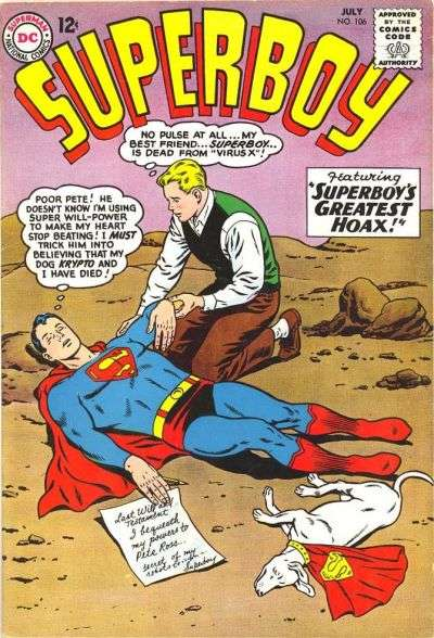 Superboy #106 Comic Books - Covers, Scans, Photos  in Superboy Comic Books - Covers, Scans, Gallery