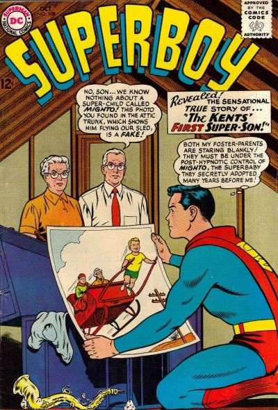 Superboy #108 Comic Books - Covers, Scans, Photos  in Superboy Comic Books - Covers, Scans, Gallery