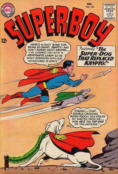 Superboy #109 comic books - cover scans photos Superboy #109 comic books - covers, picture gallery