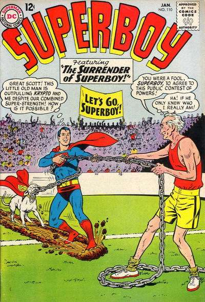 Superboy #110 cheap bargain discounted comic books Superboy #110 comic books
