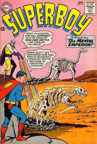 Superboy #111 Comic Books - Covers, Scans, Photos  in Superboy Comic Books - Covers, Scans, Gallery