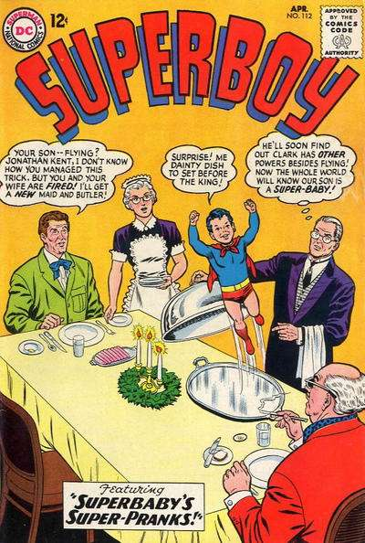 Superboy #112 comic books - cover scans photos Superboy #112 comic books - covers, picture gallery
