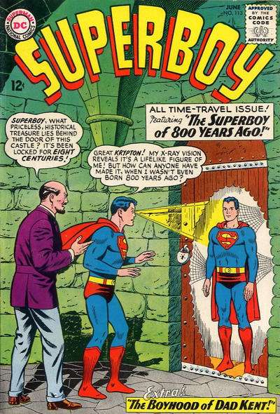 Superboy #113 comic books - cover scans photos Superboy #113 comic books - covers, picture gallery