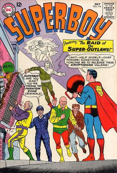 Superboy #114 comic books - cover scans photos Superboy #114 comic books - covers, picture gallery