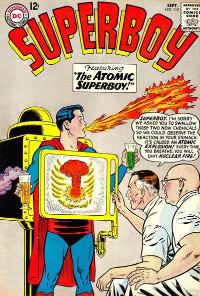Superboy #115 comic books - cover scans photos Superboy #115 comic books - covers, picture gallery