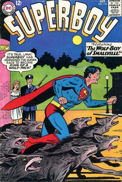 Superboy #116 comic books - cover scans photos Superboy #116 comic books - covers, picture gallery
