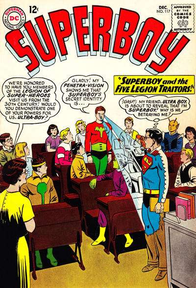 Superboy #117 comic books - cover scans photos Superboy #117 comic books - covers, picture gallery