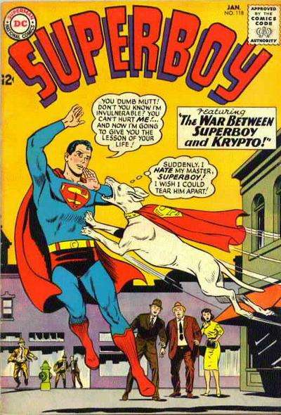 Superboy #118 Comic Books - Covers, Scans, Photos  in Superboy Comic Books - Covers, Scans, Gallery