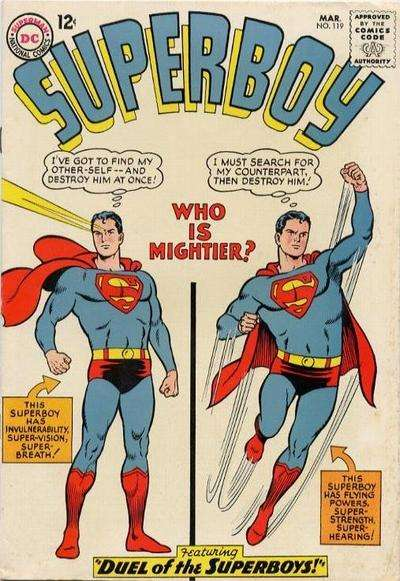 Superboy #119 Comic Books - Covers, Scans, Photos  in Superboy Comic Books - Covers, Scans, Gallery