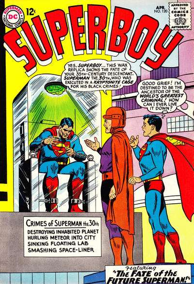 Superboy #120 comic books - cover scans photos Superboy #120 comic books - covers, picture gallery