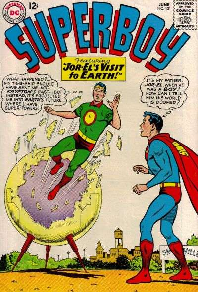 Superboy #121 Comic Books - Covers, Scans, Photos  in Superboy Comic Books - Covers, Scans, Gallery