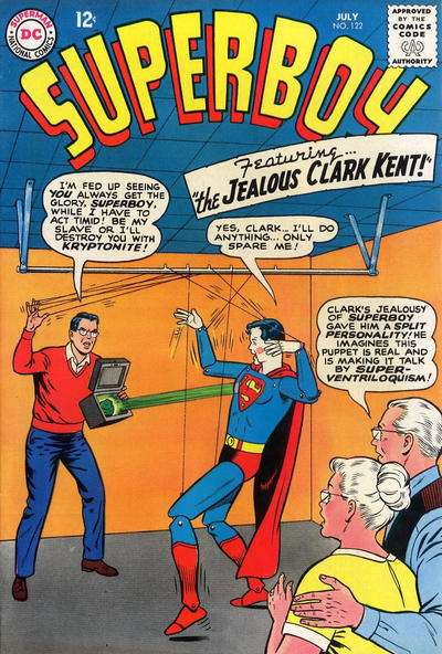 Superboy #122 Comic Books - Covers, Scans, Photos  in Superboy Comic Books - Covers, Scans, Gallery