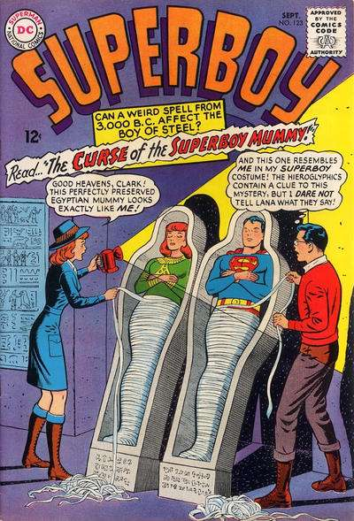 Superboy #123 Comic Books - Covers, Scans, Photos  in Superboy Comic Books - Covers, Scans, Gallery