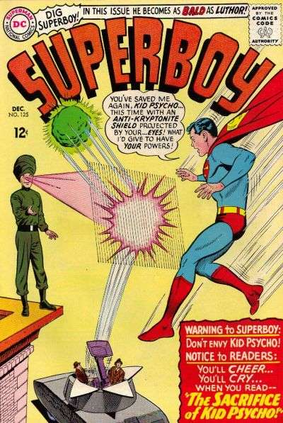 Superboy #125 comic books - cover scans photos Superboy #125 comic books - covers, picture gallery