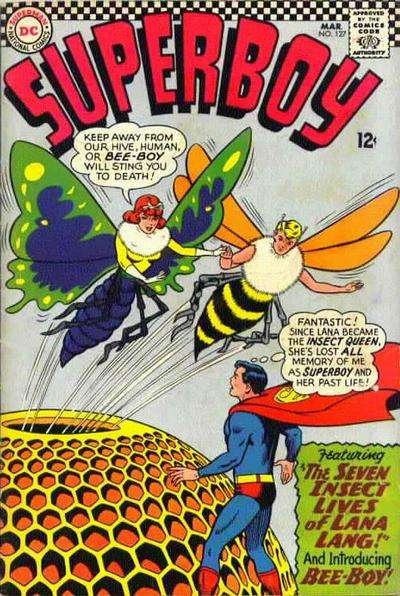 Superboy #127 Comic Books - Covers, Scans, Photos  in Superboy Comic Books - Covers, Scans, Gallery