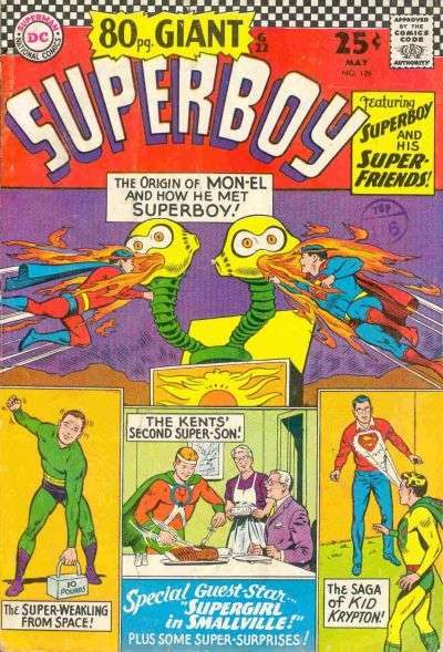Superboy #129 comic books - cover scans photos Superboy #129 comic books - covers, picture gallery