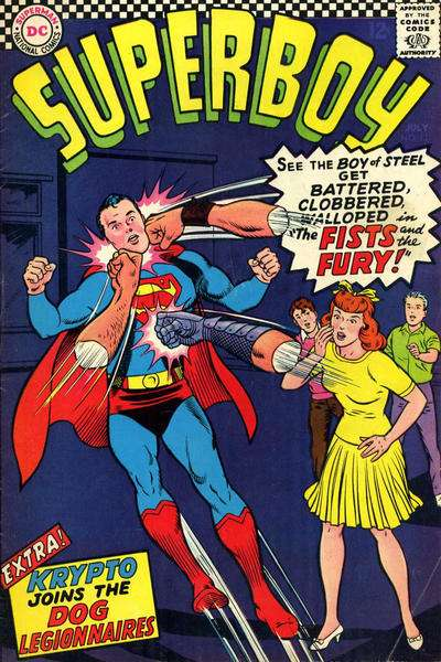 Superboy #131 Comic Books - Covers, Scans, Photos  in Superboy Comic Books - Covers, Scans, Gallery