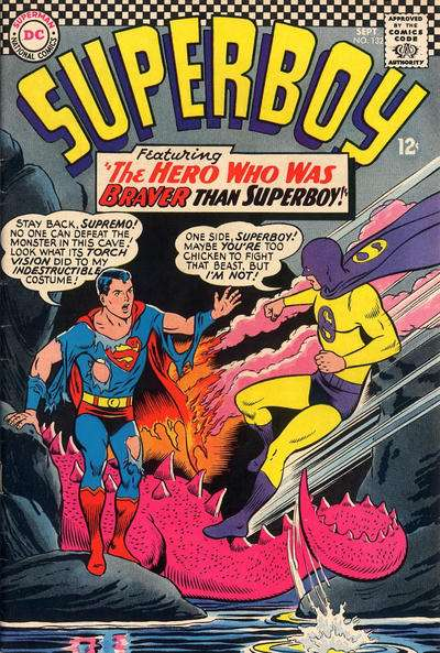 Superboy #132 comic books - cover scans photos Superboy #132 comic books - covers, picture gallery