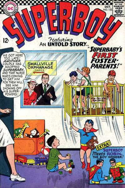 Superboy #133 Comic Books - Covers, Scans, Photos  in Superboy Comic Books - Covers, Scans, Gallery