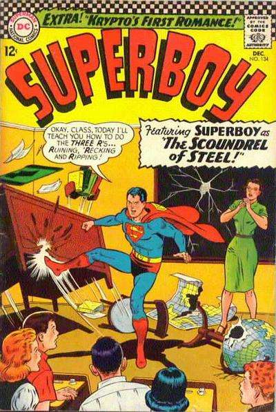Superboy #134 comic books - cover scans photos Superboy #134 comic books - covers, picture gallery