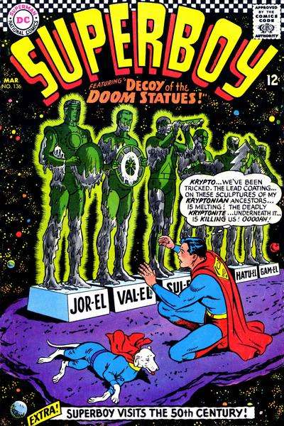 Superboy #136 Comic Books - Covers, Scans, Photos  in Superboy Comic Books - Covers, Scans, Gallery