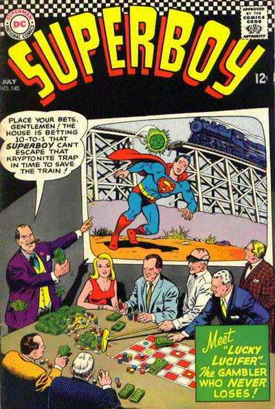 Superboy #140 Comic Books - Covers, Scans, Photos  in Superboy Comic Books - Covers, Scans, Gallery