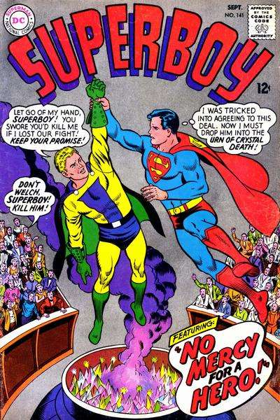 Superboy #141 comic books - cover scans photos Superboy #141 comic books - covers, picture gallery