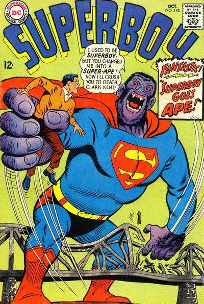 Superboy #142 comic books - cover scans photos Superboy #142 comic books - covers, picture gallery