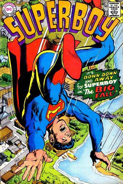 Superboy #143 comic books - cover scans photos Superboy #143 comic books - covers, picture gallery