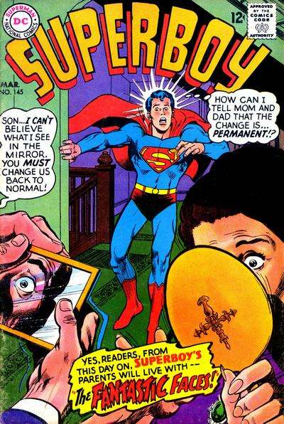 Superboy #145 Comic Books - Covers, Scans, Photos  in Superboy Comic Books - Covers, Scans, Gallery