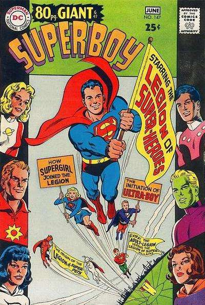 Superboy #147 comic books - cover scans photos Superboy #147 comic books - covers, picture gallery