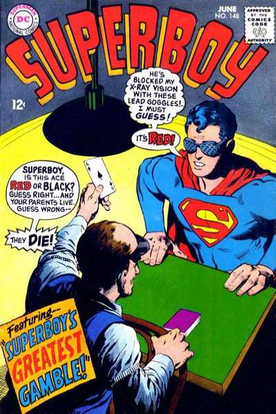 Superboy #148 Comic Books - Covers, Scans, Photos  in Superboy Comic Books - Covers, Scans, Gallery