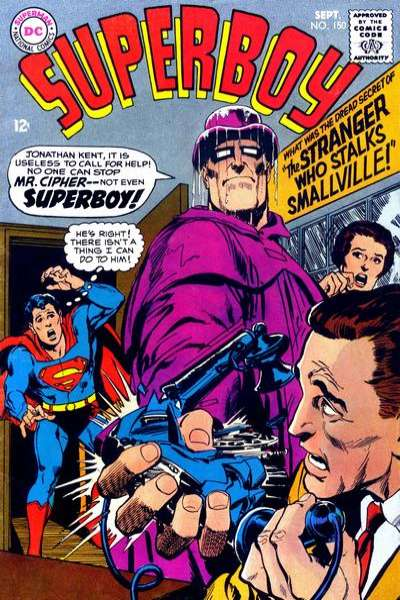Superboy #150 comic books - cover scans photos Superboy #150 comic books - covers, picture gallery