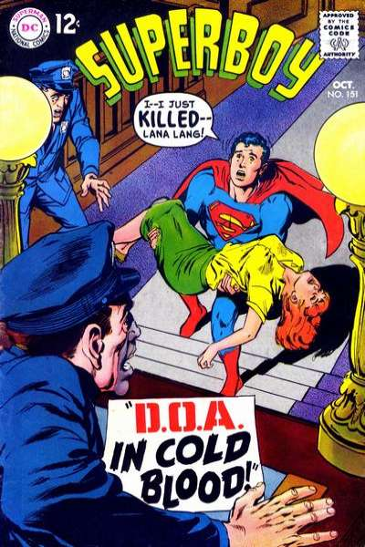 Superboy #151 Comic Books - Covers, Scans, Photos  in Superboy Comic Books - Covers, Scans, Gallery