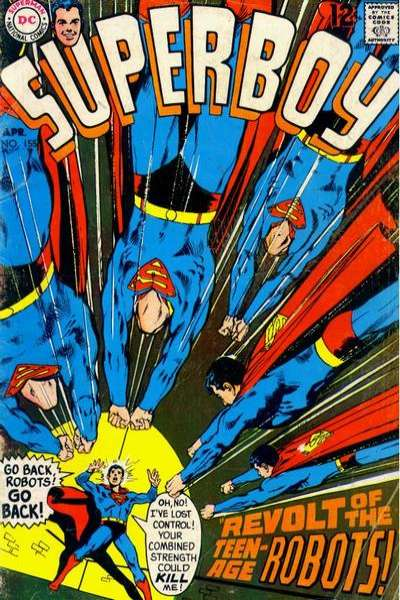 Superboy #155 Comic Books - Covers, Scans, Photos  in Superboy Comic Books - Covers, Scans, Gallery