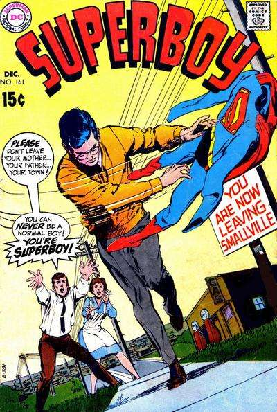 Superboy #161 comic books - cover scans photos Superboy #161 comic books - covers, picture gallery