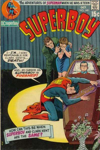 Superboy #169 comic books - cover scans photos Superboy #169 comic books - covers, picture gallery