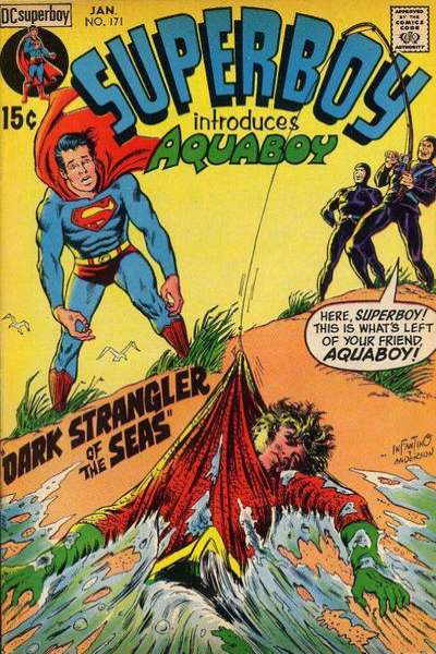 Superboy #171 comic books - cover scans photos Superboy #171 comic books - covers, picture gallery