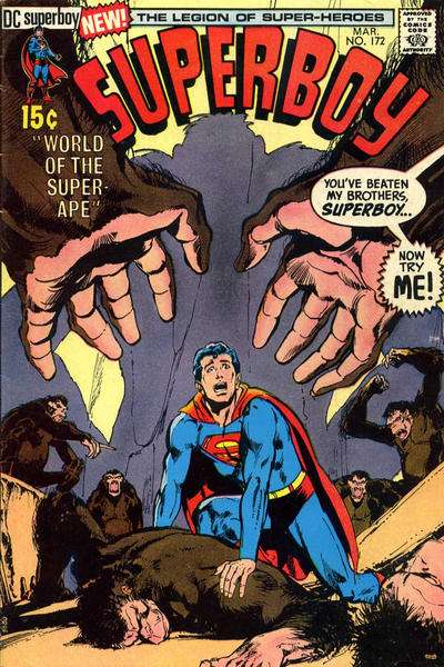 Superboy #172 Comic Books - Covers, Scans, Photos  in Superboy Comic Books - Covers, Scans, Gallery