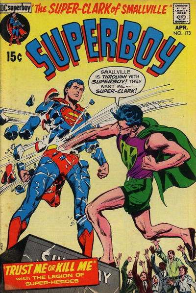 Superboy #173 comic books - cover scans photos Superboy #173 comic books - covers, picture gallery