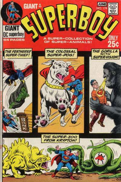 Superboy #174 Comic Books - Covers, Scans, Photos  in Superboy Comic Books - Covers, Scans, Gallery