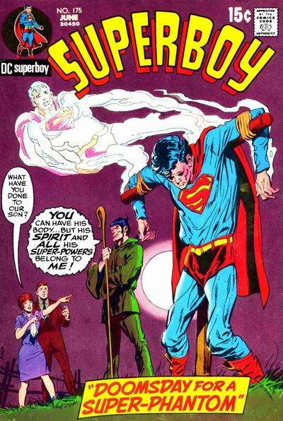 Superboy #175 Comic Books - Covers, Scans, Photos  in Superboy Comic Books - Covers, Scans, Gallery