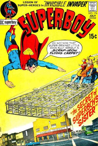 Superboy #176 comic books - cover scans photos Superboy #176 comic books - covers, picture gallery