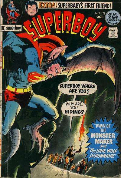 Superboy #178 comic books - cover scans photos Superboy #178 comic books - covers, picture gallery